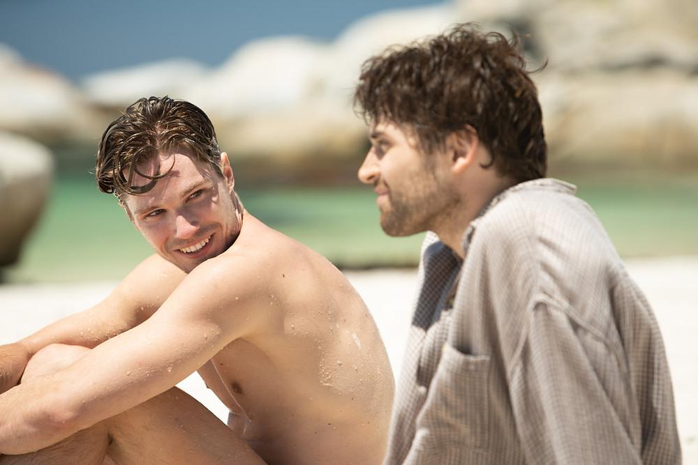 Kai Luke Brummer and Ryan de Villiers in Oliver Hermanus' Moffie