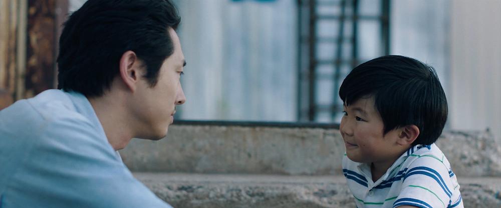 Steven Yeun and Alan S. Kim in Lee Isaac Chung's Minari