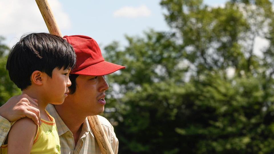 Alan S. Kim and Steven Yeun in Lee Isaac Chung's Minari