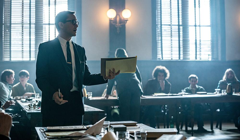 Joseph Gordon-Levitt in Aaron Sorkin's The Trial of the Chicago 7