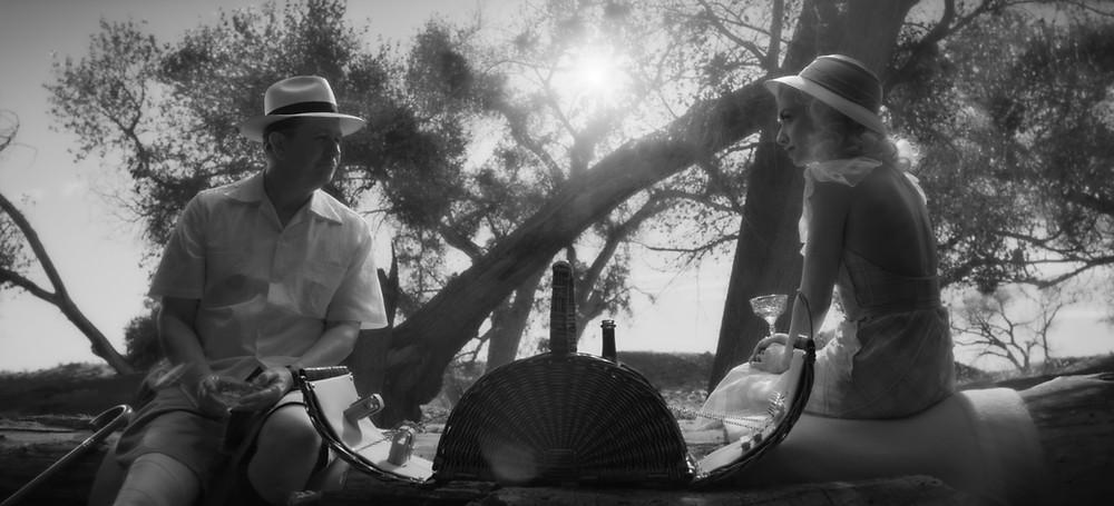 Gary Oldman and Amanda Seyfried in David Fincher's Mank