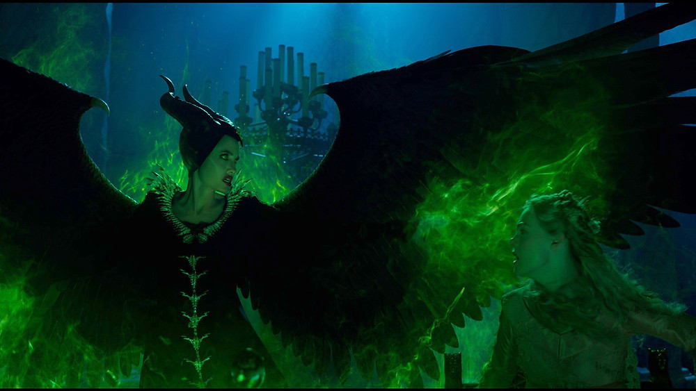 Angelina Jolie and Elle Fanning in Joachim Ronning's Maleficent: Mistress of Evil