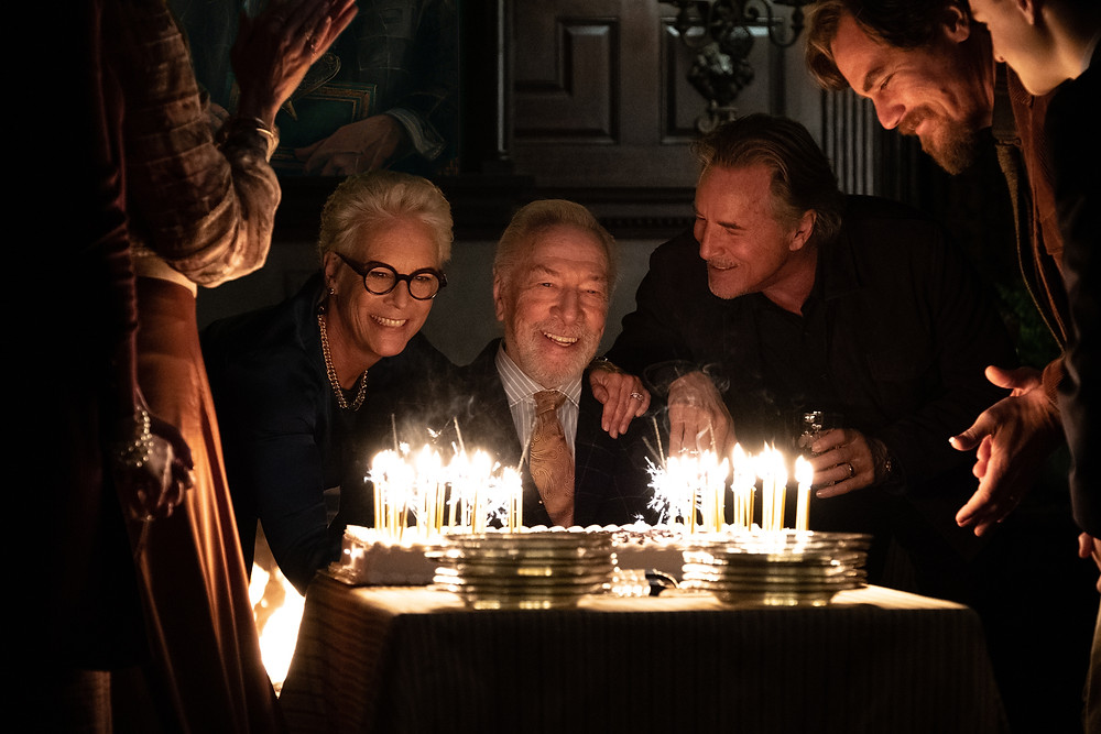 Jamie Lee Curtis, Christopher Plummer, Don Johnson, Michael Shannon and Jaeden Martell in Rian Johnson's Knives Out