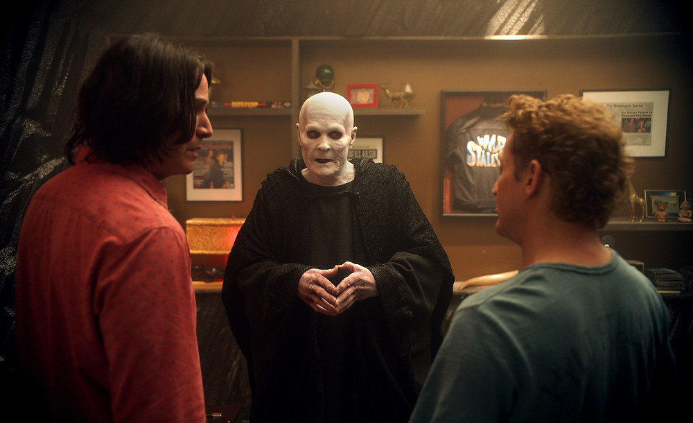 Keanu Reeves, William Sadler and Alex Winter in Dean Parisot's Bill & Ted Face the Music