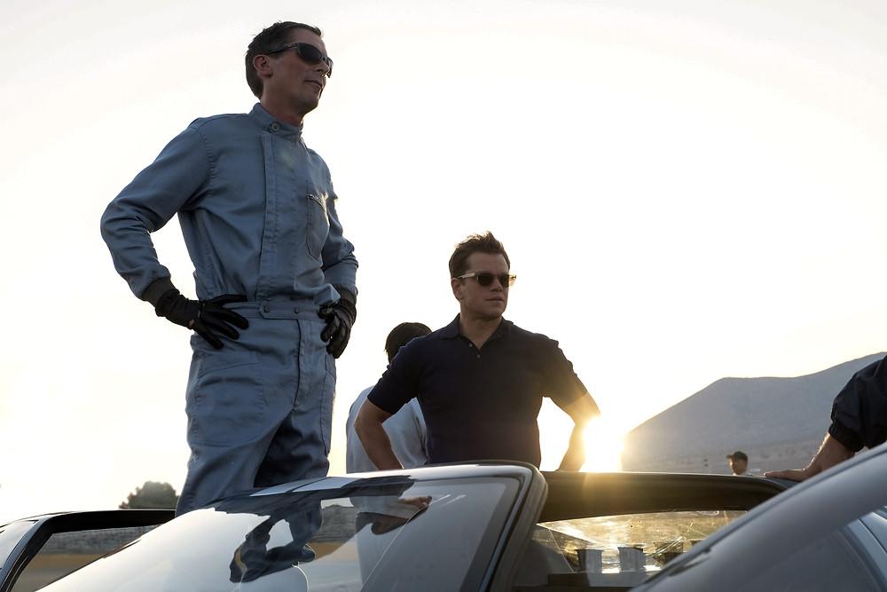 Christian Bale and Matt Damon in James Mangold's Ford v. Ferrari