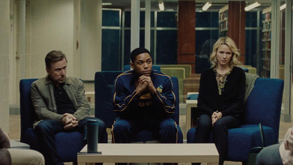 Tim Roth, Kelvin Harrison Jr. and Naomi Watts in Julius Onah's Luce