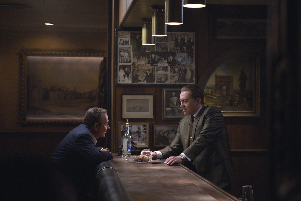 Joe Pesci and Robert de Niro in Martin Scorsese's The Irishman