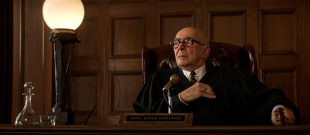 Frank Langella in Aaron Sorkin's The Trial of the Chicago 7