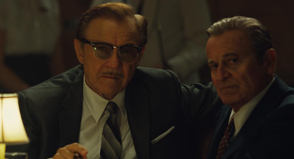 Harvey Keitel and Joe Pesci in Martin Scorsese's The Irishman