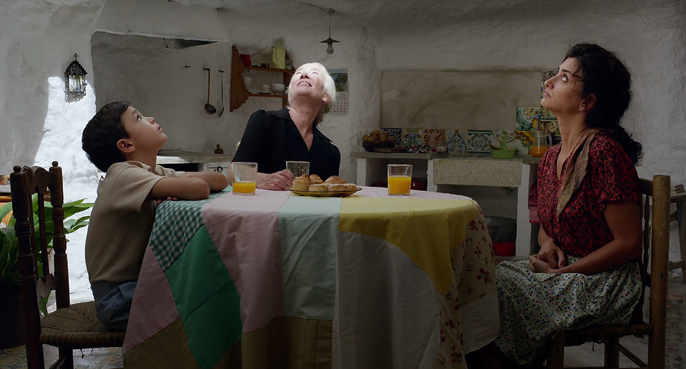 Asier Flores, Susi Sanchez and Penelope Cruz in Pedro Almodovar's Pain & Glory