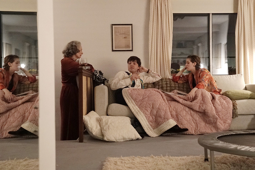 Tilda Swinton, Tom Burke and Honor Swinton-Byrne in Joanna Hogg's The Souvenir