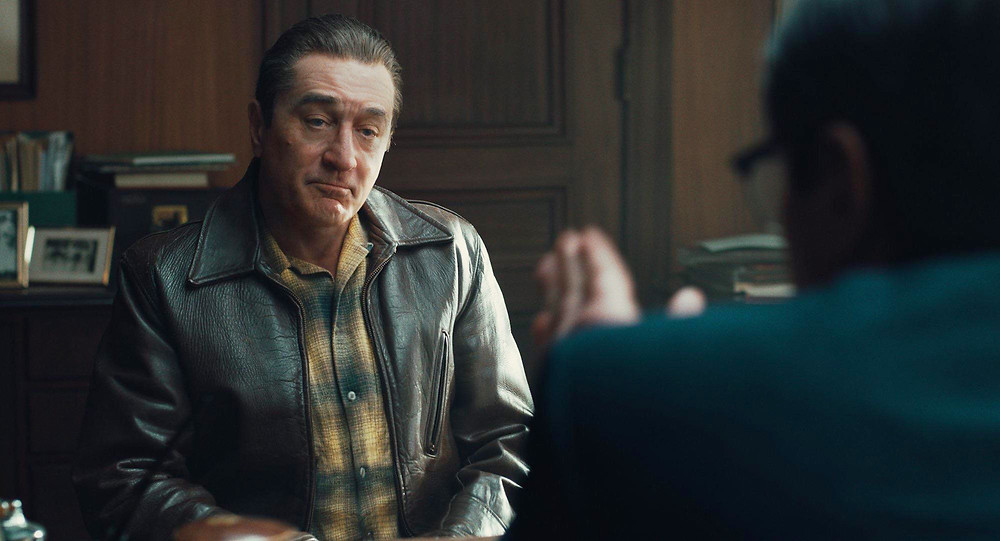 Robert de Niro in Martin Scorsese's The Irishman