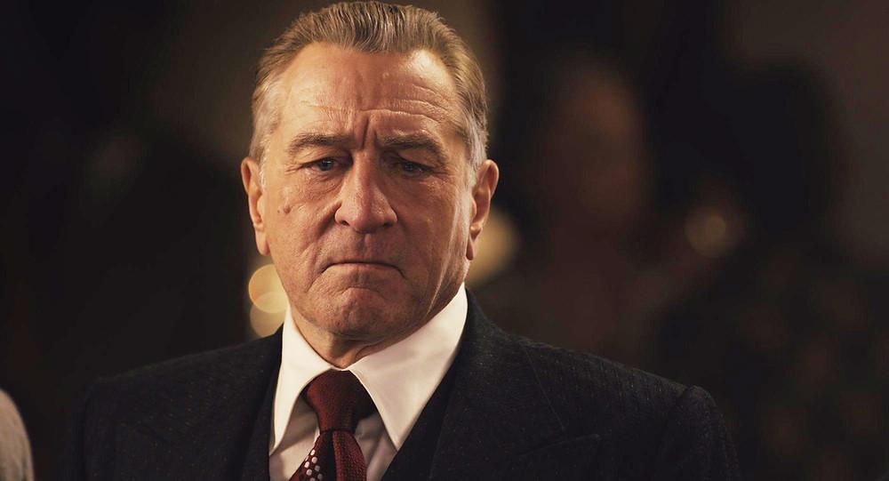 Robert de Niro in Martin Scorsese's The Irishman