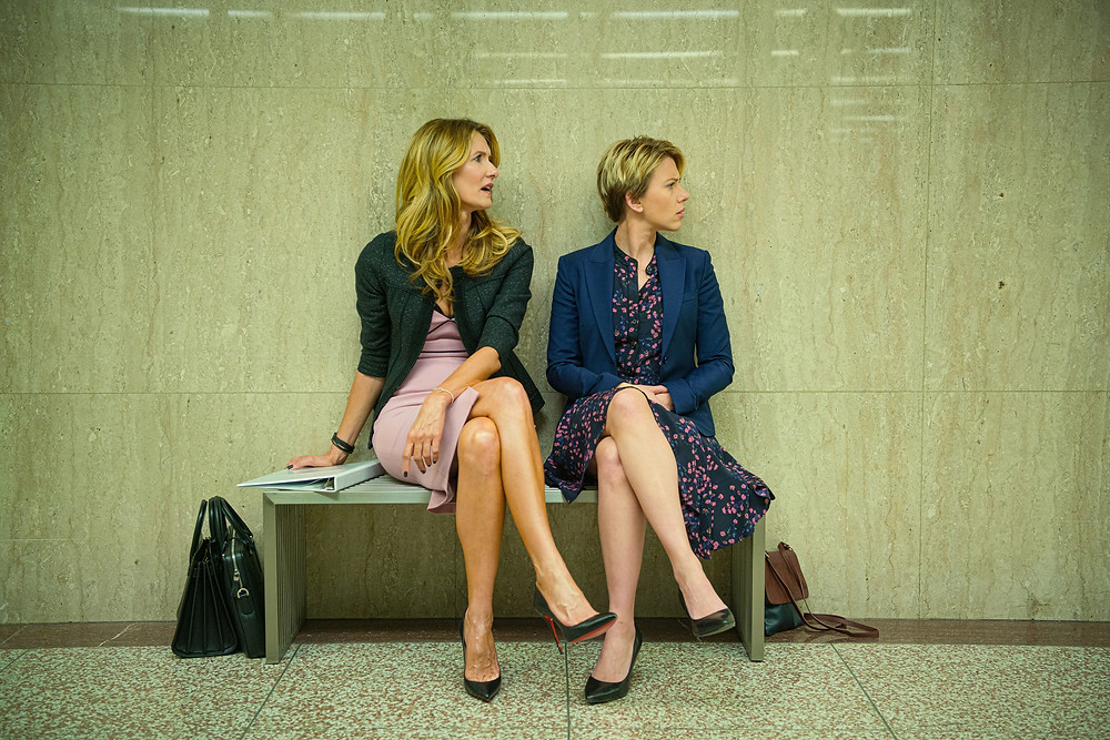 Laura Dern and Scarlett Johansson in Noah Baumbach's Marriage Story