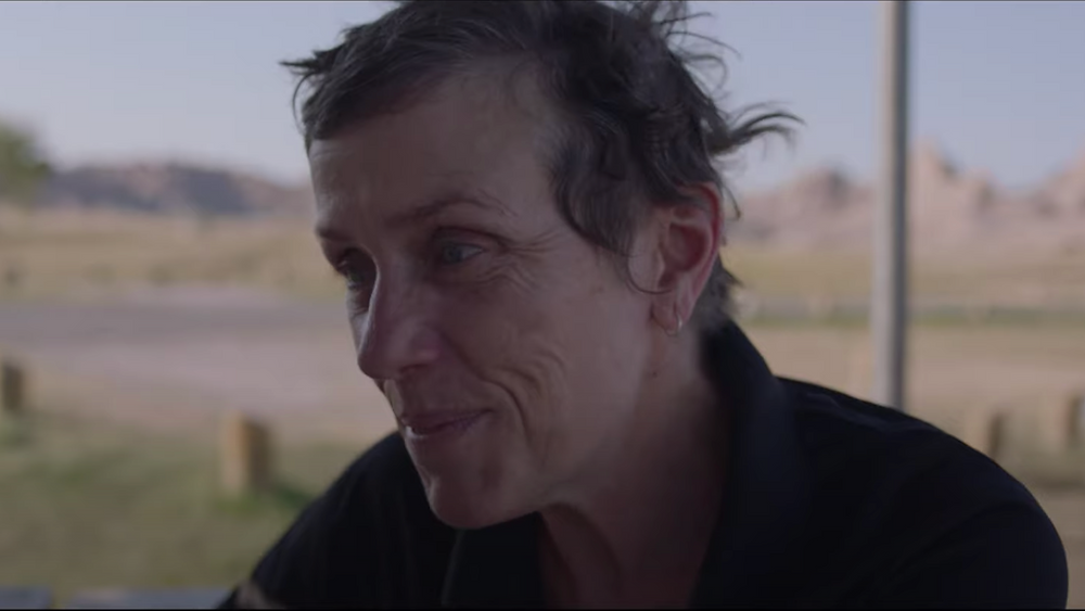 Frances McDormand in Chloe Zhao's Nomadland