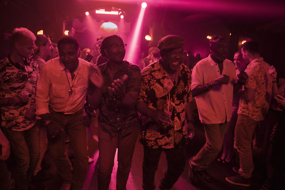 Norm Lewis, Clarke Peters, Isaiah Whitlock Jr. and Delroy Lindo in Spike Lee's Da 5 Bloods