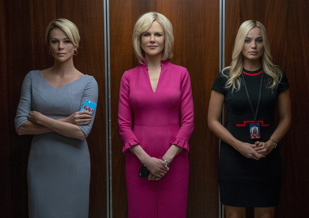Charlize Theron, Nicole Kidman and Margot Robbie in Jay Roach's Bombshell
