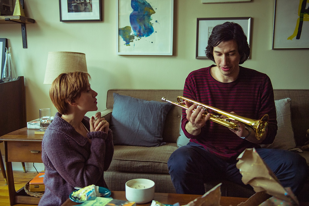 Scarlett Johansson and Adam Driver in Noah Baumbach's Marriage Story