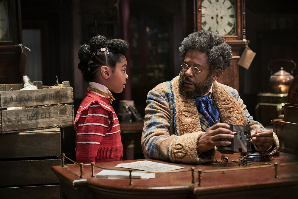 Madalen Mills and Forest Whitaker in David E. Talbert's Jingle Jangle: A Christmas Journey