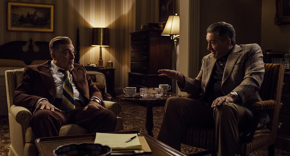 Al Pacino and Robert de Niro in Martin Scorsese's The Irishman