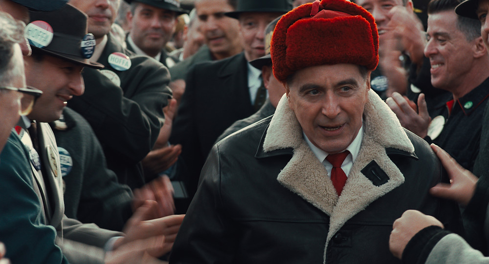 Al Pacino in Martin Scorsese's The Irishman