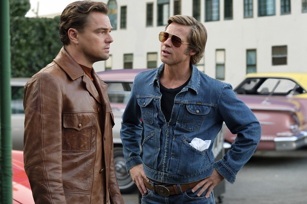 Leonardo DiCaprio and Brad Pitt in Quentin Tarantino's Once Upon a Time... in Hollywood