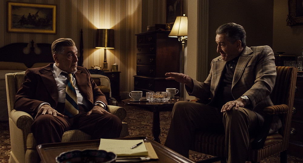 Al Pacino and Robert de Niro in Martin Scorsese's The Irishman