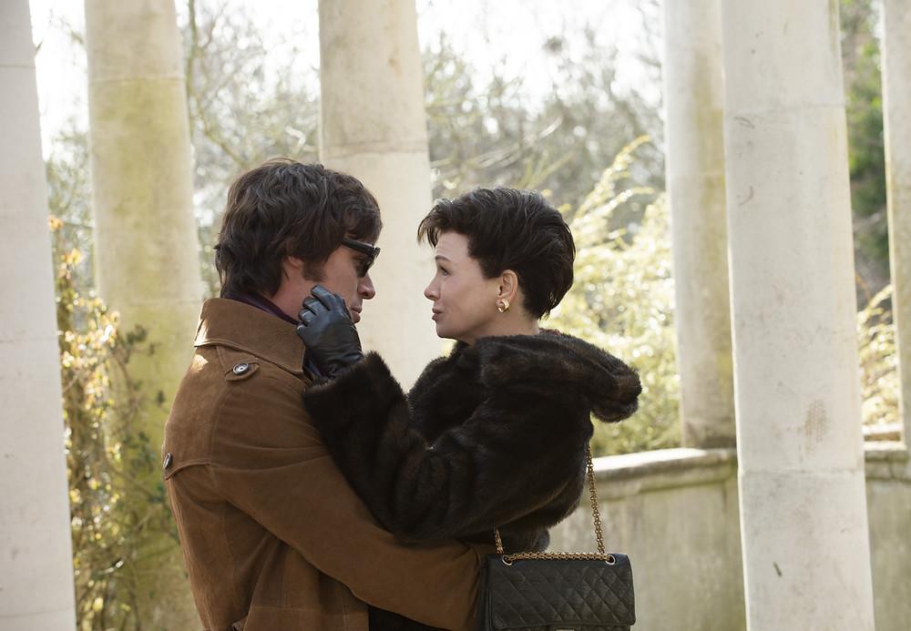 Finn Wittrock and Renee Zellweger in Rupert Goold's Judy