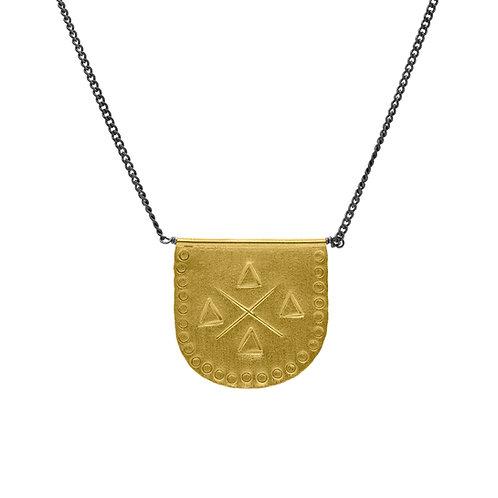 necklace gönül media luna grande