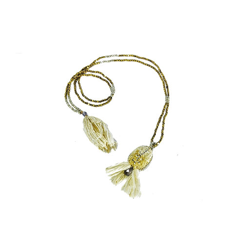 NECKLACE YALA FLOR MOONSTONE
