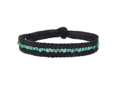 bracelet carril turquesa