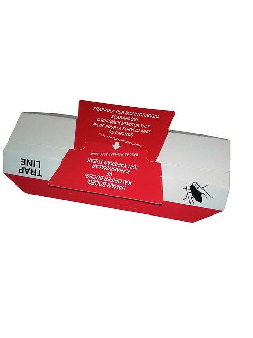 TRAP LINE 25 Cartoncini collanti con attrattivo per blatte
