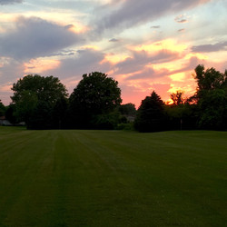 Sunset at Thornbrook