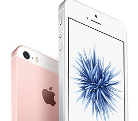 iPhone 5SE with 128GB storage