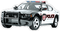 MYC-GTA Police Car Dodge Charger 16in.pn