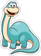MyYardCelebration-DinosaursBrontosaurusB