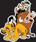 MYC Disney Characters - Simba Timon and