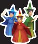 Disney Princess - Aurora Three God Mothe
