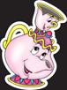 Disney Princess - Belle Mrs Potts n Chip