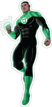 MYC-DC Green Lantern John Stewart 36in.p