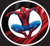 MYC - SpiderMan Jumpping Circle Backgoun