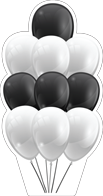 MYC-Balloons-Black-n-White-Bouquet-32in.