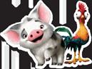 Disney Princess - Moana Pig n Chicken 16
