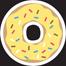 MYC-Doughnut-HoneyFrostedSprinkles-10in.