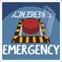 Among us - Emergency Meeting Red Button