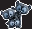 Disney Princess - Merida Three Bears 18i