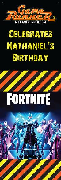 2020 - Game Runner Fortnite Banner - Gam