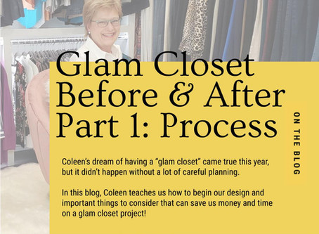 Glam Closet Before/After Part 1: The Process