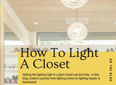 How To Light A Closet