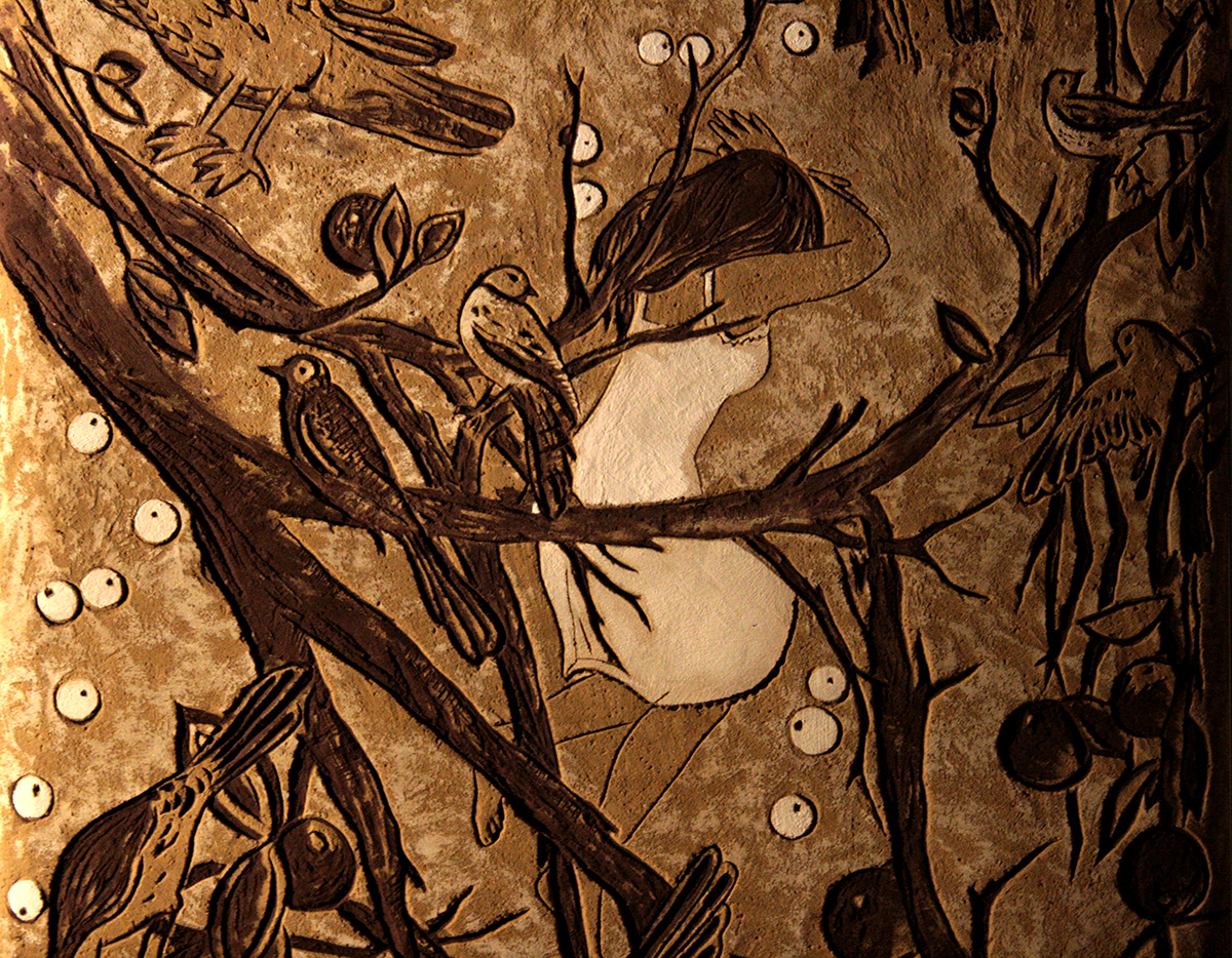 sgraffito dream detail s